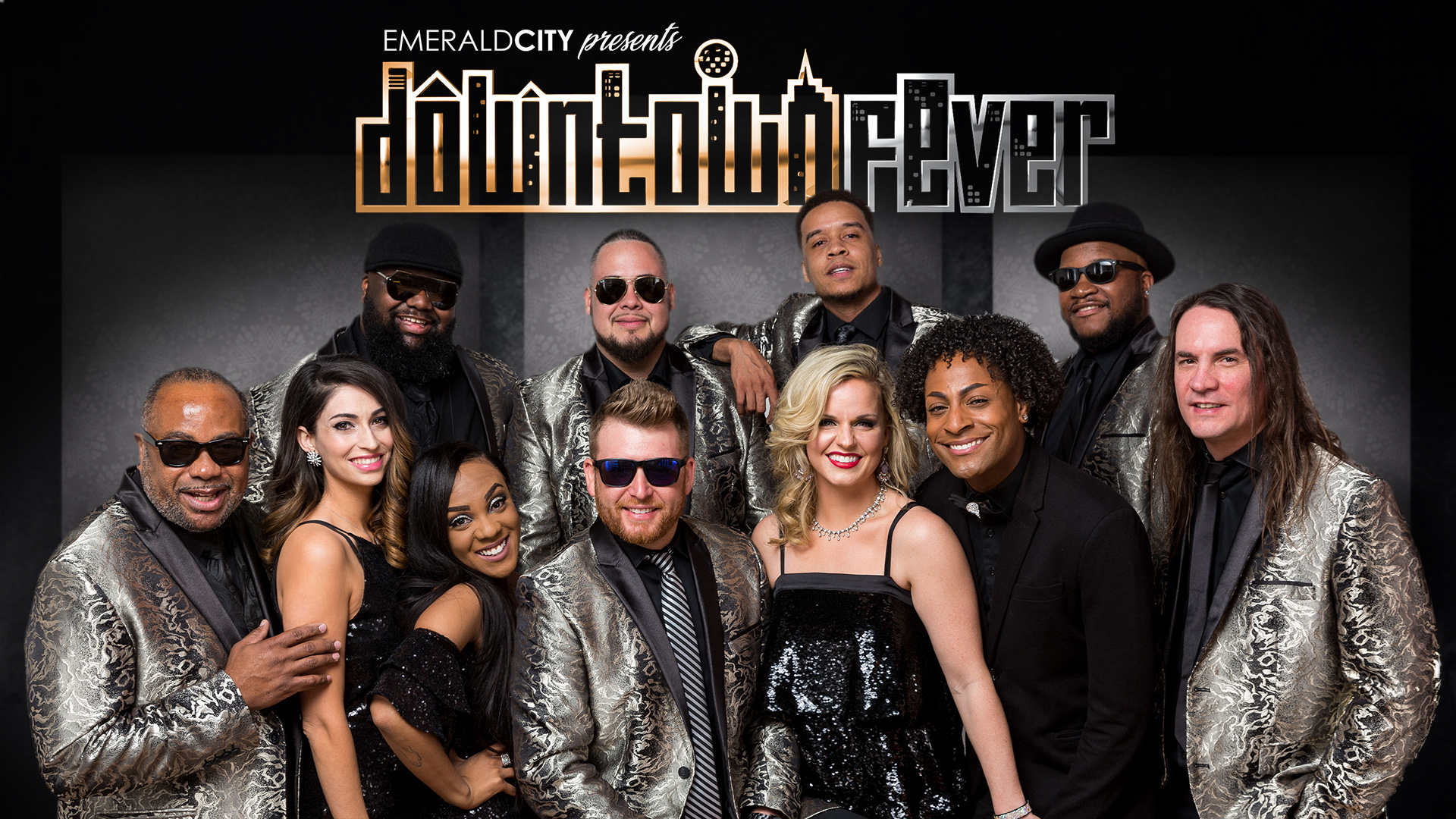 Downtown Fever Band - Dallas TX - one of the best party bands for weddings and events