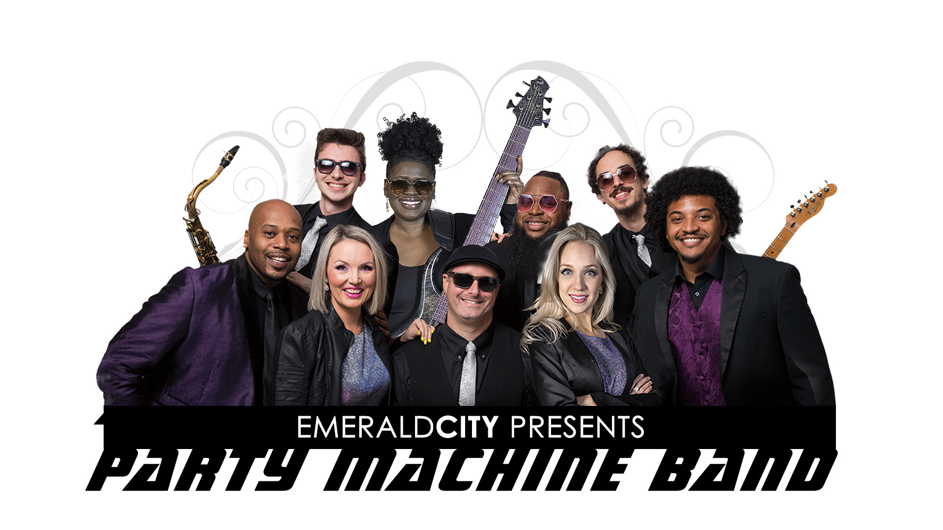 Party Machine Band - Dallas TX - one of the best live party bands for weddings and events