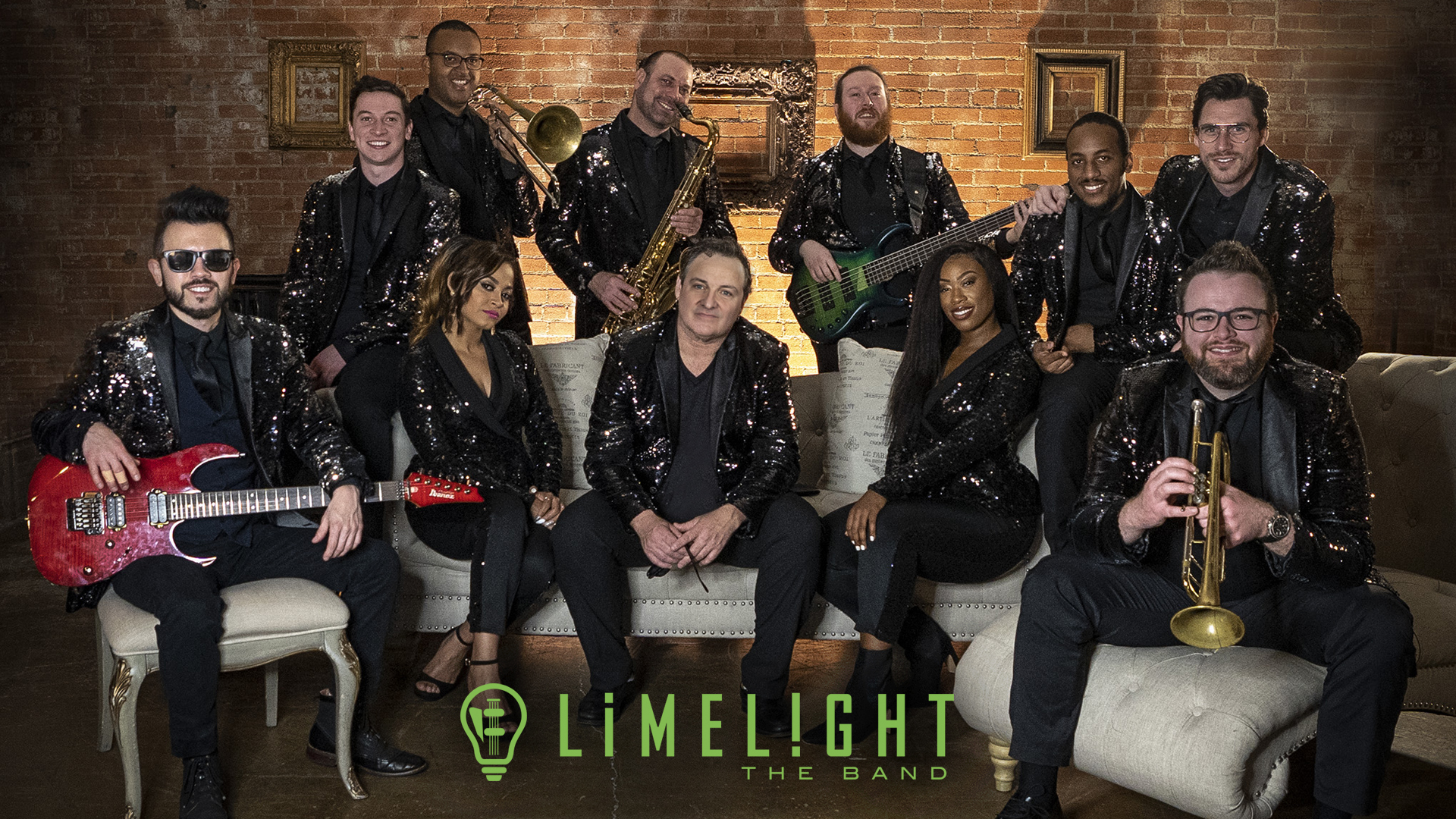 Limelight Band based in Dallas TX - one of the best party bands for weddings and events
